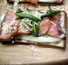 Salmon Danish Smorrebrod