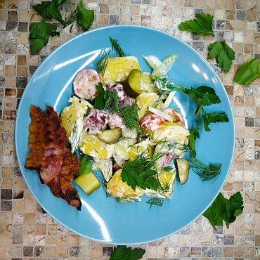 Spicy Potato German Salad