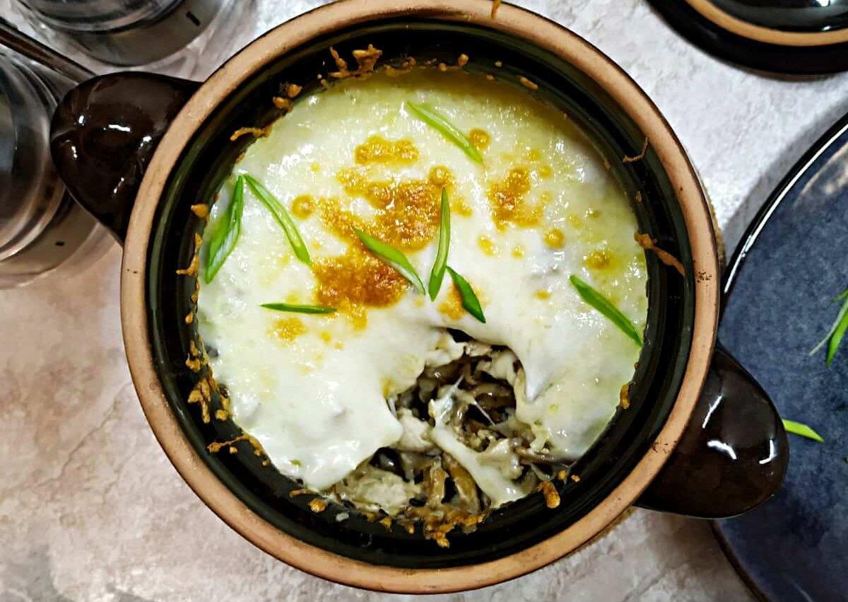 Creamy Russian Chicken Mushroom Julienne
