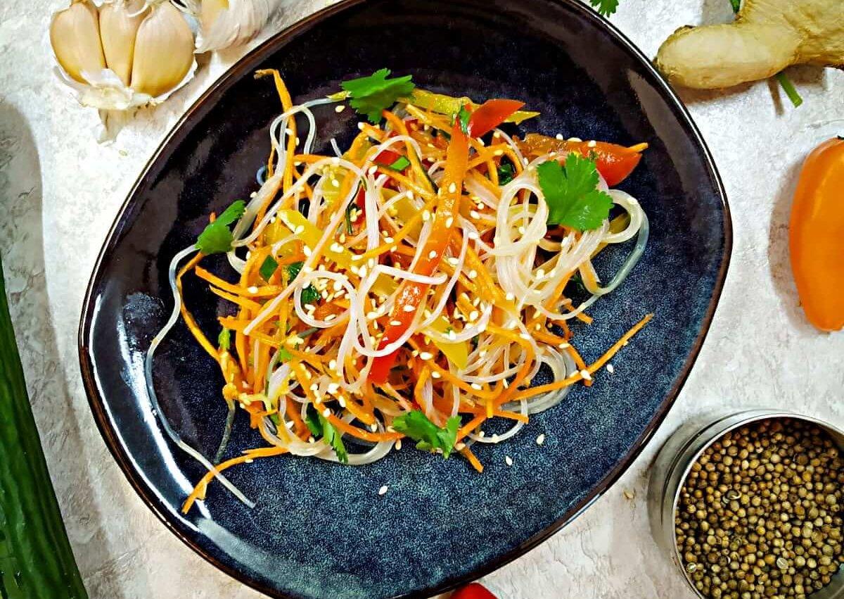 Glass Noodle Vegetable Salad