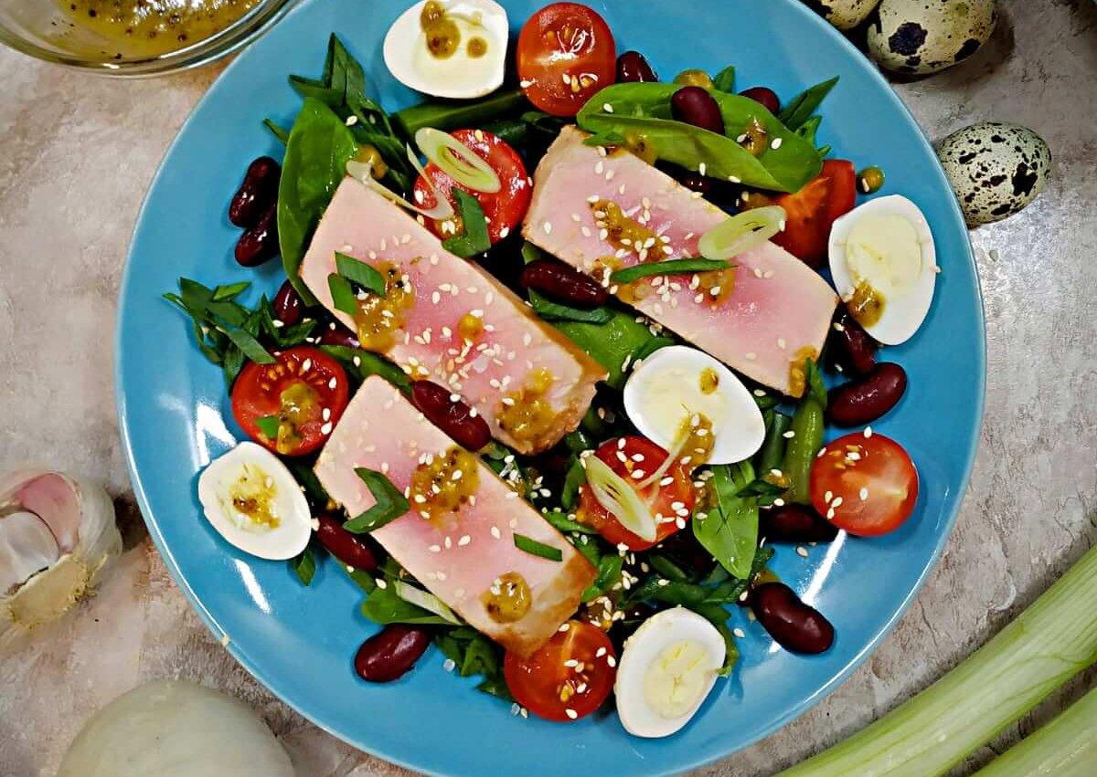 Green Bean Tuna Salad