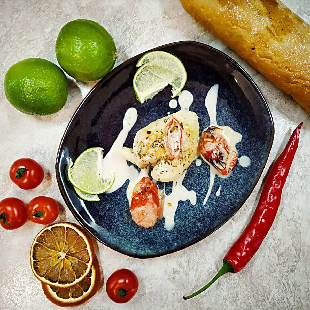 Spicy Tomato-Coconut Milk Chicken