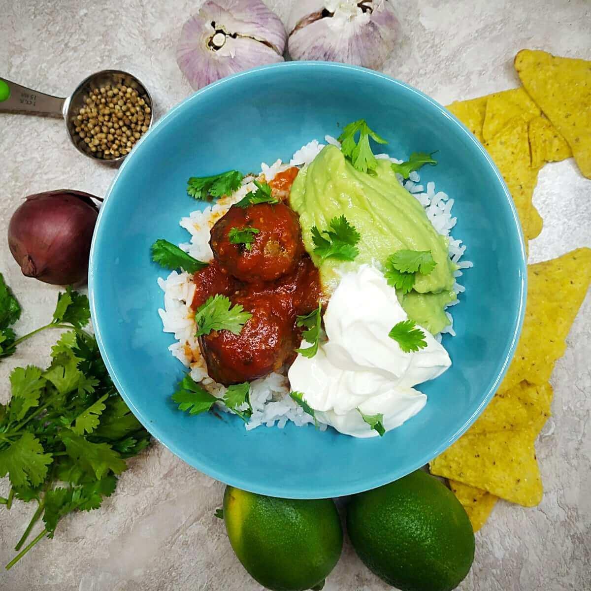 Mexican Jalapeno Meatballs