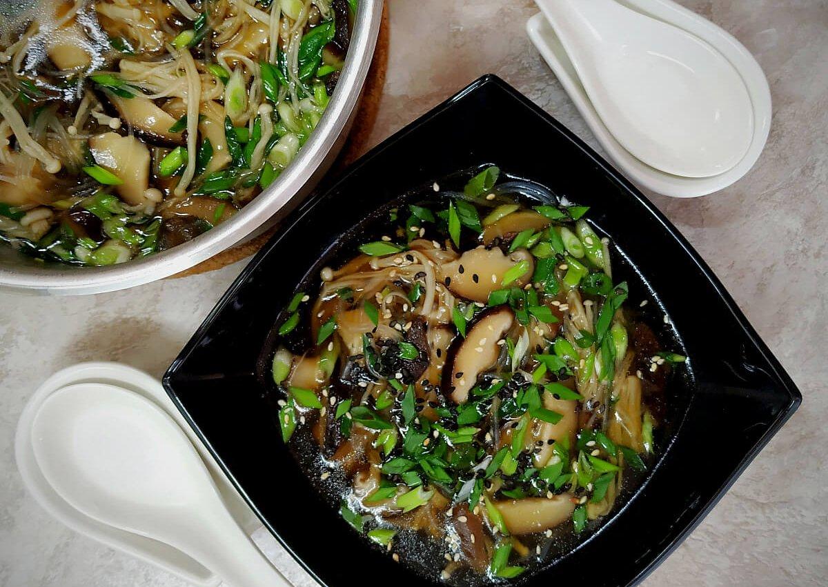 Japanese Shiitake Mushroom Soup