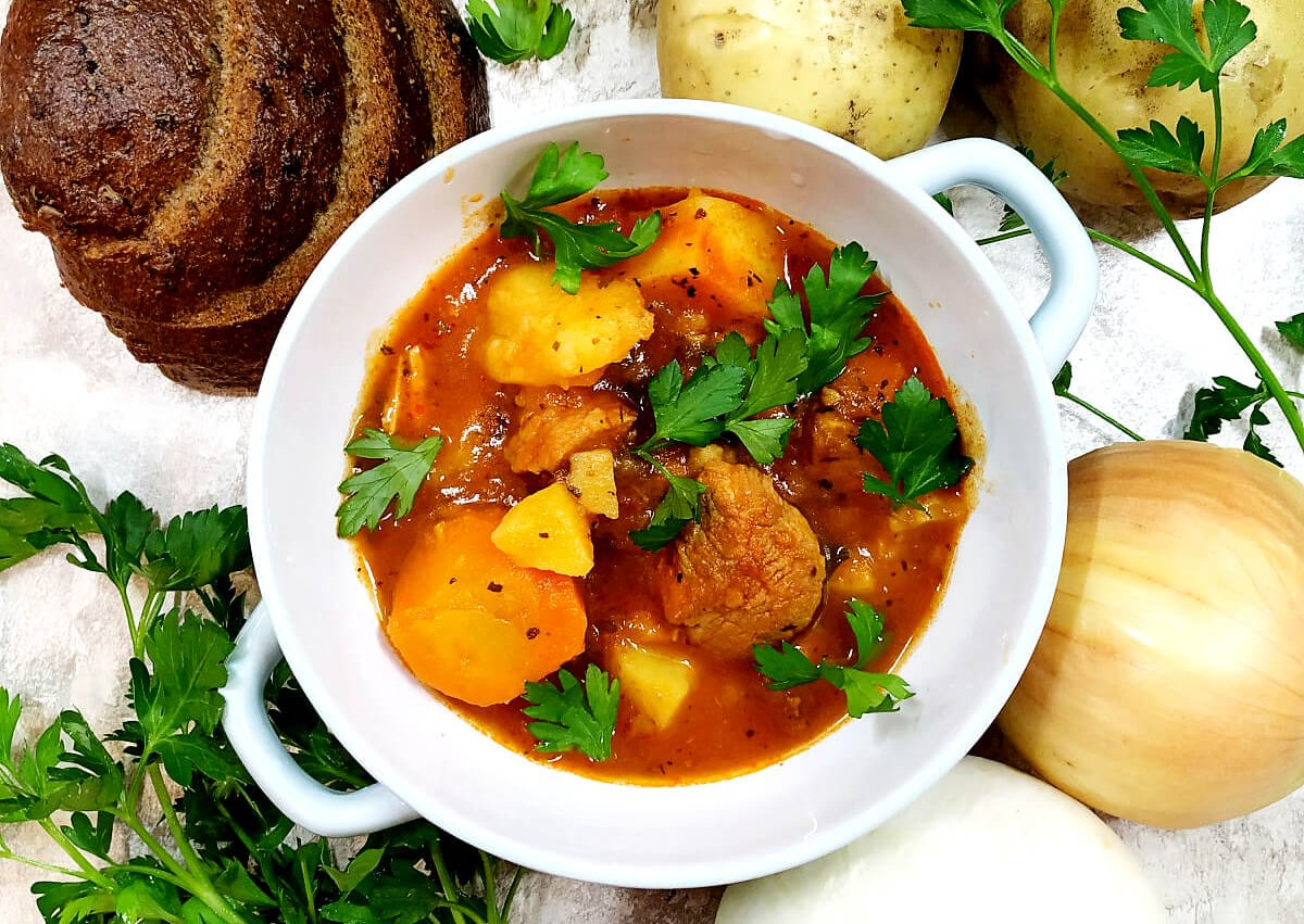 Romanian Pork Stew