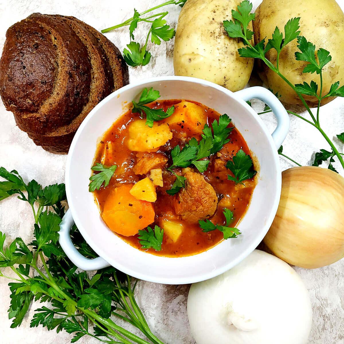 Romain Pork Stew