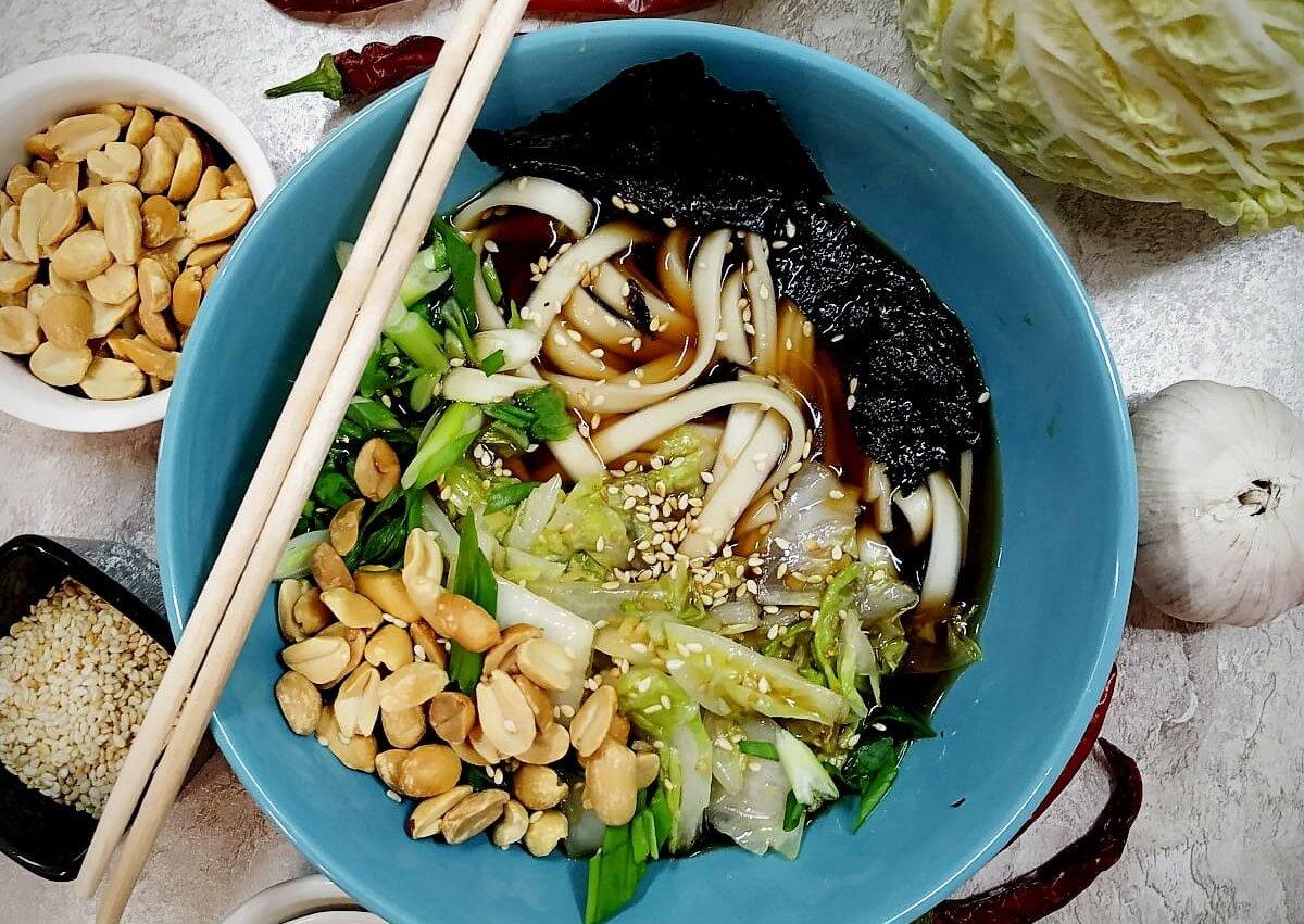 Japanese Vegan Udon