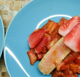 Tuna Strawberry sauce recipe